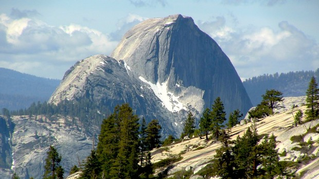 Half Dome today.