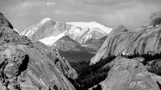 Tenaya lake area, Yosemite.  Today.