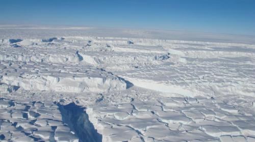 West Antarctic Ice Sheet.  photo:  NASA