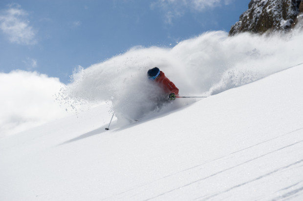 Backcountry gear on the rise again this year.  photo:  Hank de Vre
