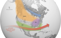 noaa north america forecast