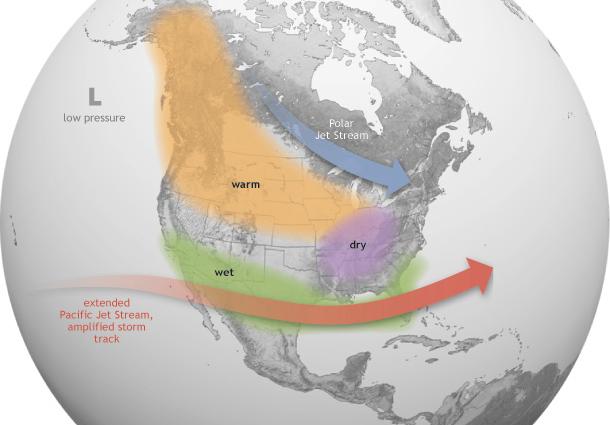 noaa north america forecast