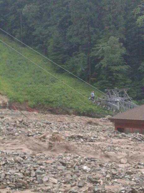 Vratna ski resort slovakia flood