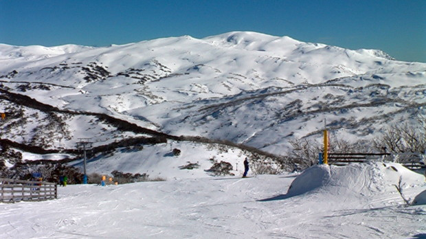 Perisher ski resort, Australia