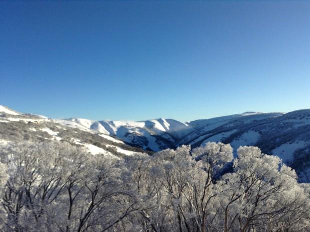 Mt. Hotham ski resort