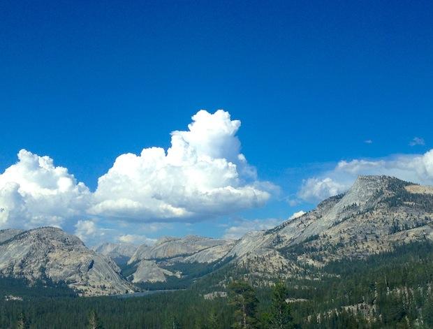 Thunderclouds above Tenaya Lake, Yosemite