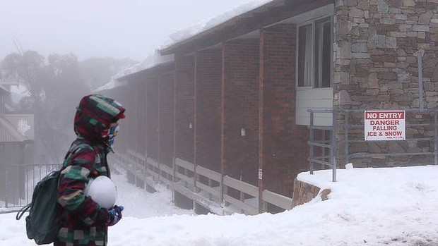 The Hima lodge in Mount Buller, where the boy died. Photo: Pat Scala
