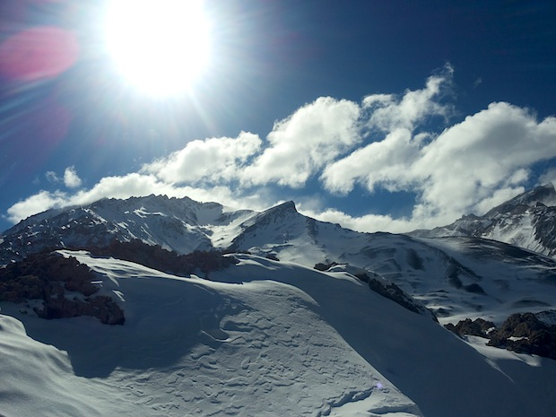 View of Faslo Cerro Las Leñas