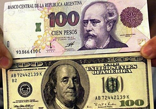 Argentina S Peso Loses 22 Of Its Value