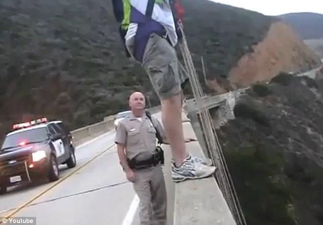 bixby bridge base jump