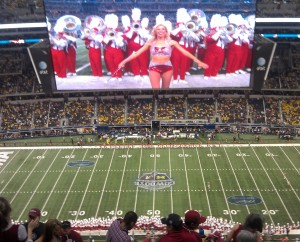 big screen at cowboy's stadium