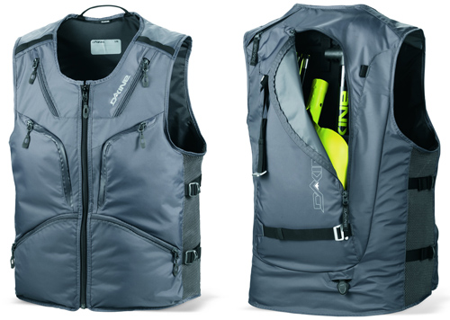 Backcountry vest with closed carry system.  These are safe.