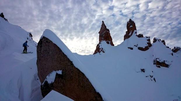 AndesCross client in the Refugio Frey region in Bariloche, Argentina. photo: AndesCross