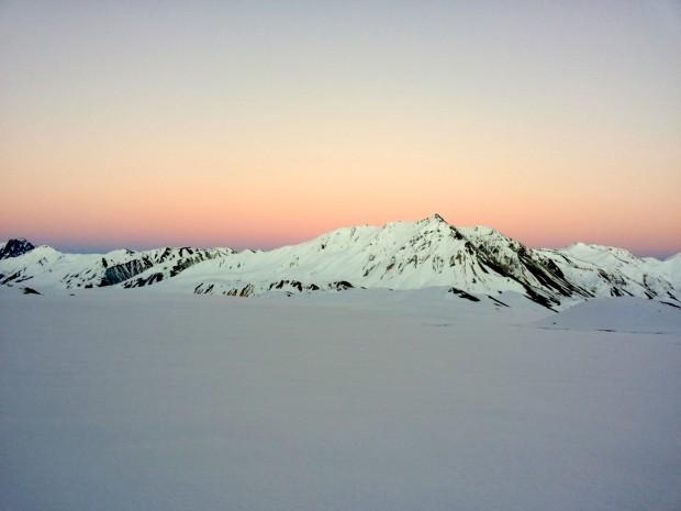 Cerro Aspero sunrise
