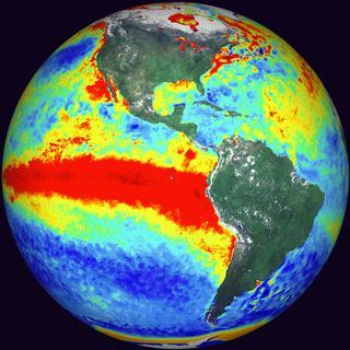 El Nino on Earth.