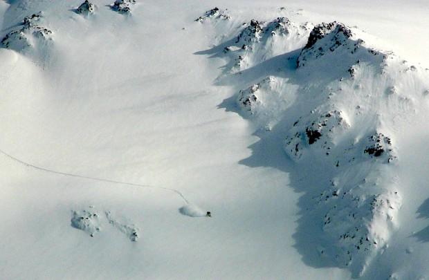 Snowboard spray on Nubes today.