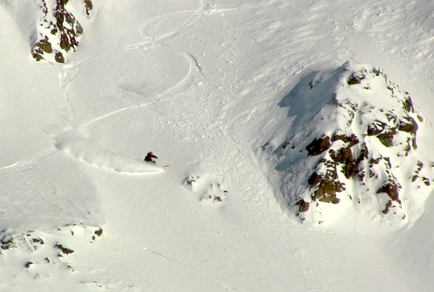 Random ripper coming down Nubes today.