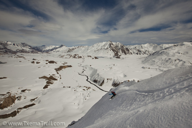 Valle Hermoso, Las Lenas, Argentina backcountry. August 14th-17th, 2014. photo: www.TxemaTrull.com