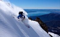 powder day at Catedral ski resort