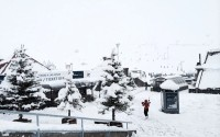 Las Lenas, 10-inch snowfall at the base.  Sept. 2nd, 2014.