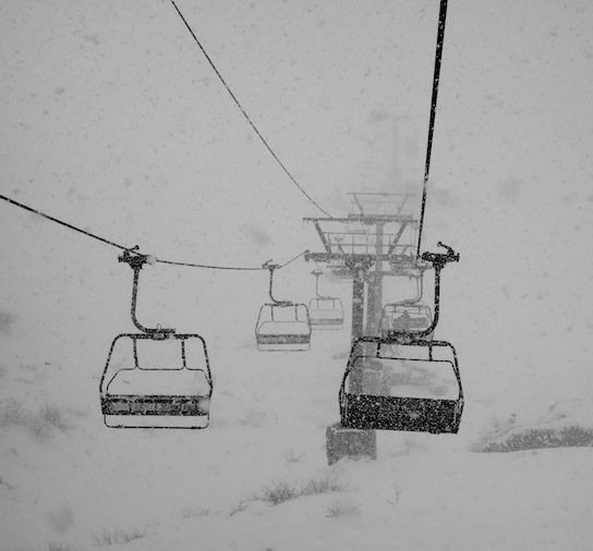 Nubes chair at Catedral ski resort in Bariloche, Argentina today. photo: snowbrains.com