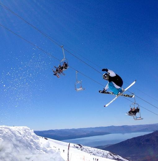 bariloche park skiing
