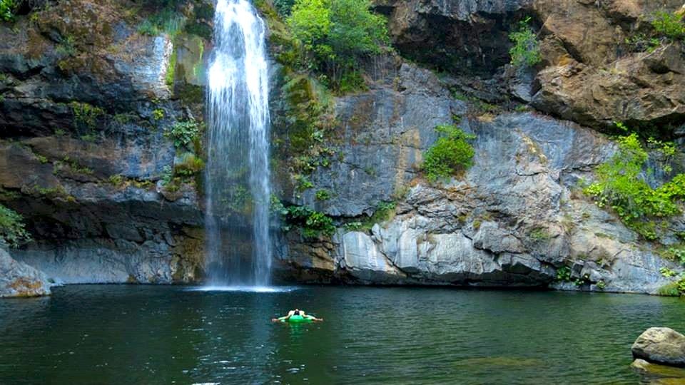 The Best Swimming Holes In Ca Far Norcal S Quot Potem Falls