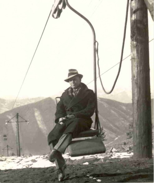 world's first chairlift