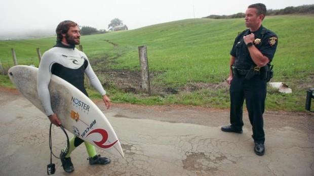 California surfers win landmark case against billionaire for Surf fishing northern california