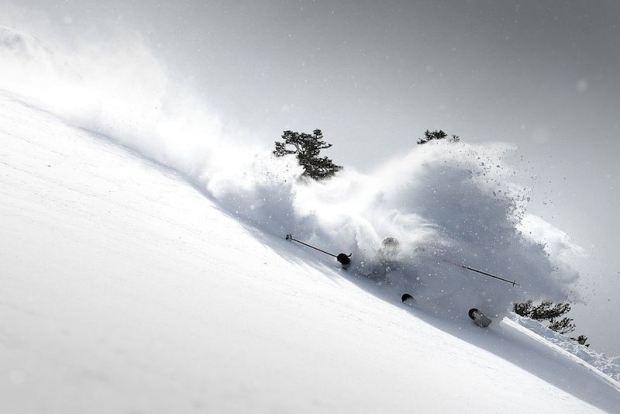 Powder Skis are good for powder.