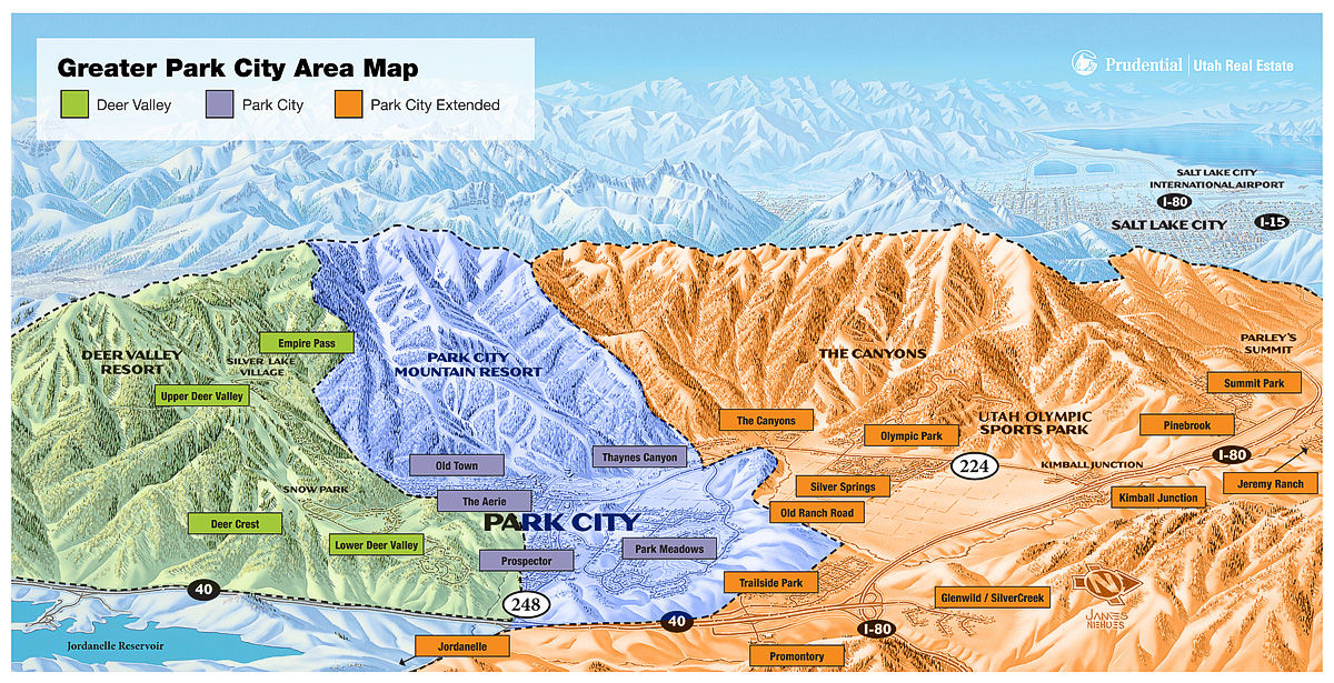 VAIL Park City Canyons WILL CONNECT In SnowBrains - Park city map