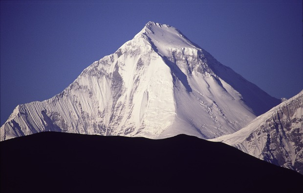 26,795-foot Mt. Dhaulagiri released an avalanche that killed 5 on Tuesday.