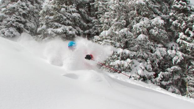 Aspen, CO deep snow.