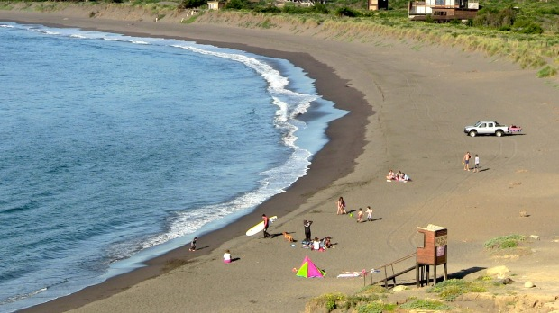 Chilean beach chillin'