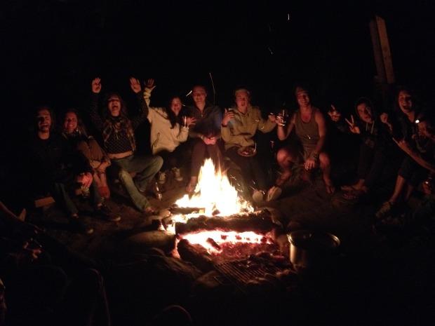 Bonfire BBQ good times