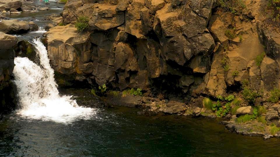 Lower Falls McCloud swimming hole.