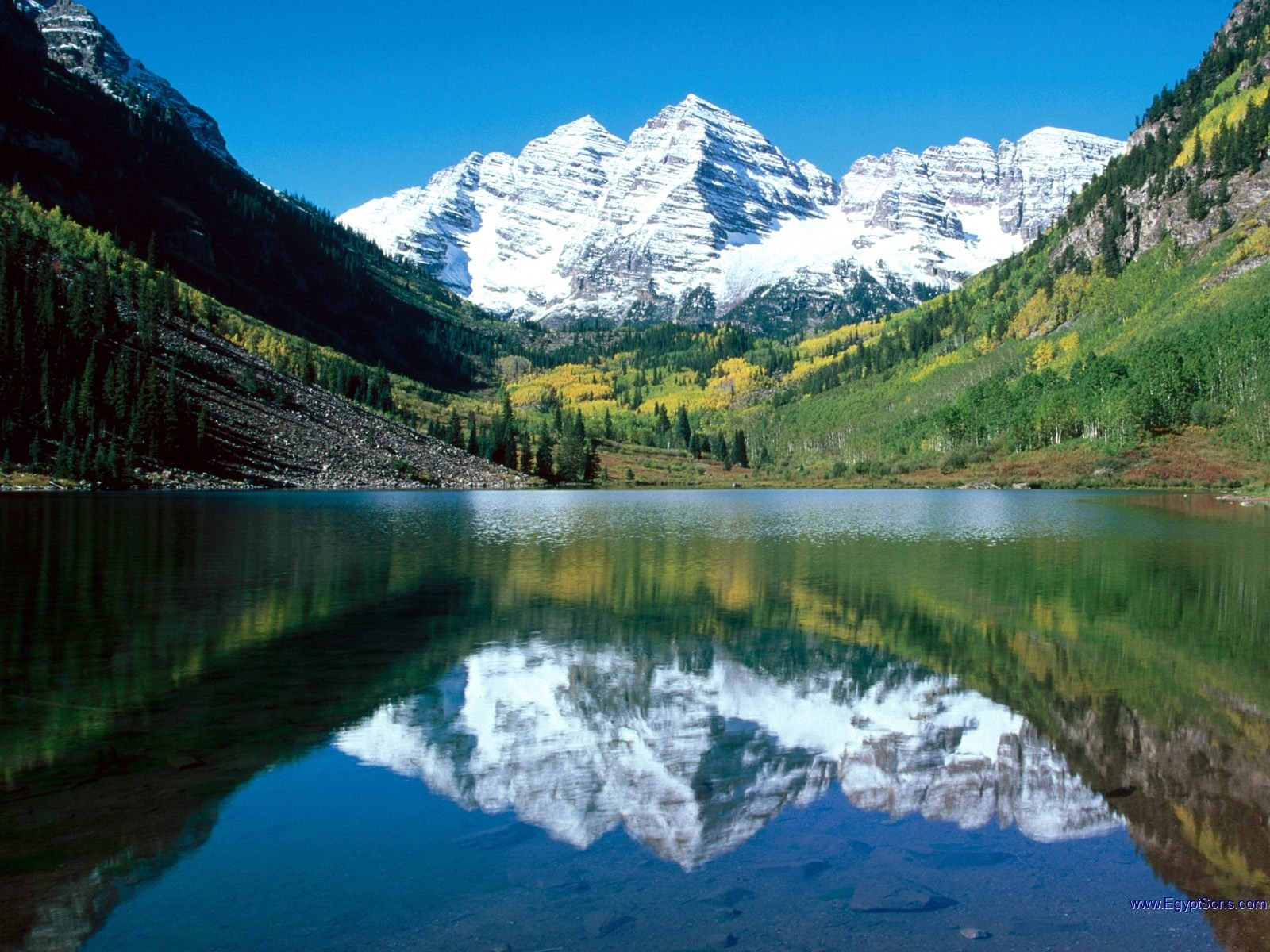 Maroon Bells, CO.