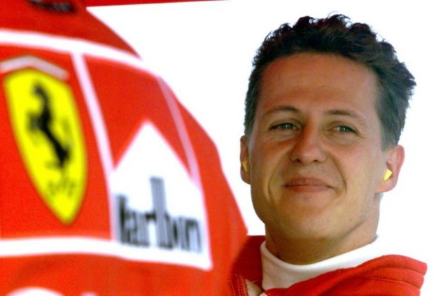 Michael Schumacher, the winningest Formula One driver of all time.