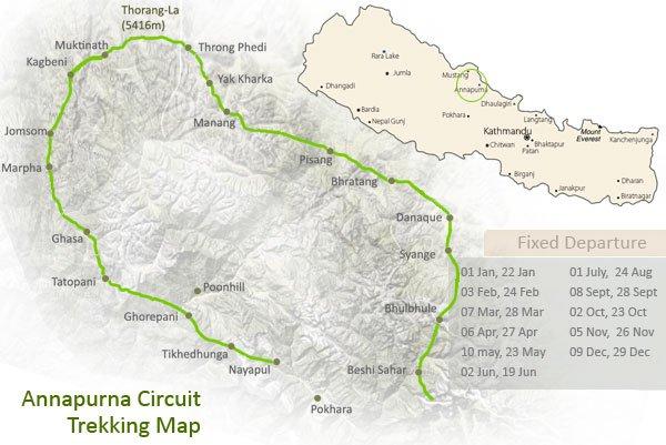 The Annapurna Trekking Circuit