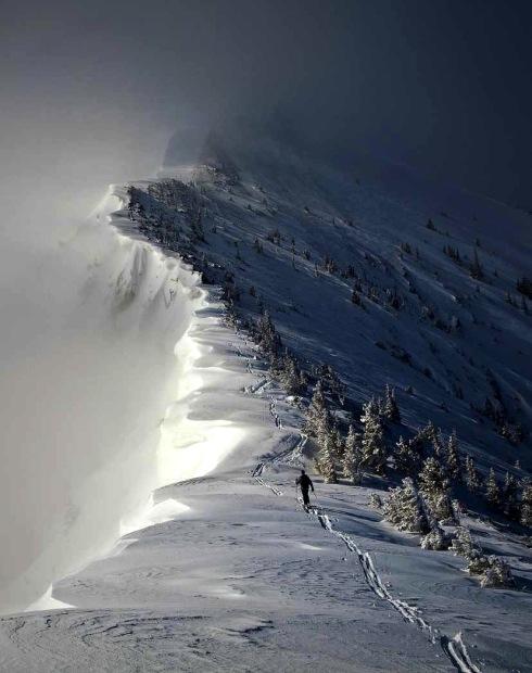 Bridger Bowl, MT gots ridge.