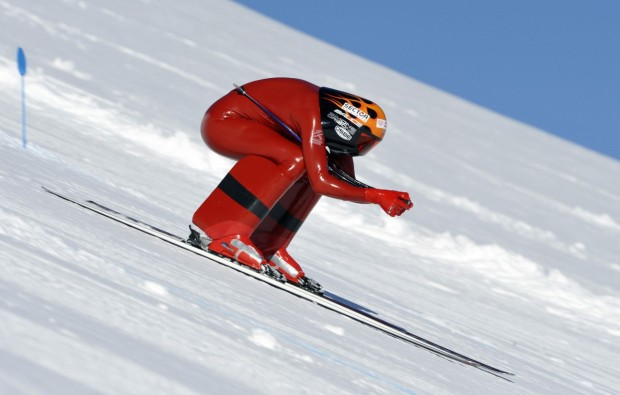 Speed skiing has gotten up to 156 miles/hour...