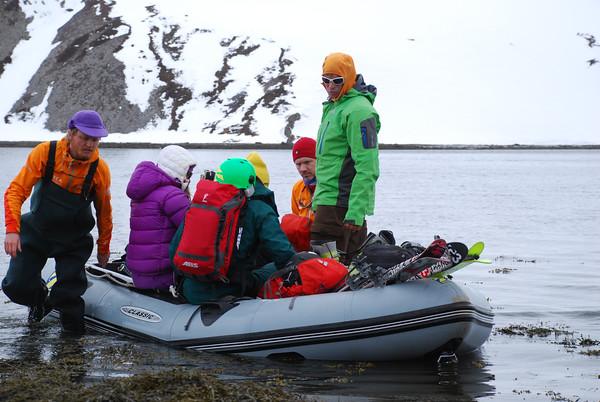 Icelandic ski lift.