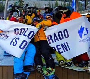 Arapahoe Basin, CO opens for the season today: October 17th, 2014.