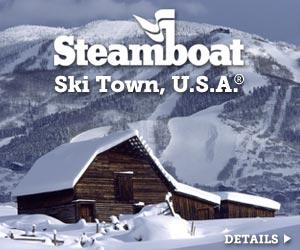 Steamboat Springs = Ski Town, USA