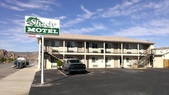 A Shady Vegas hotel.