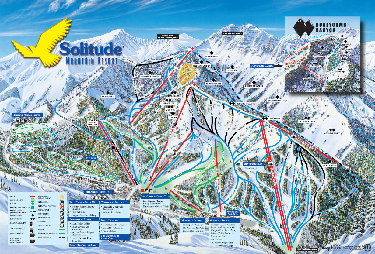 Deer Valley, UT Will Purchase Solitude, UT: - Snowins on telluride mountain map, cascade mountains map, logan mountain map, arizona mountain map, sugarbush mountain map, alta mountain map, alpine mountain map, vail mountain map, park city mountain resort trail map, breckenridge mountain map,
