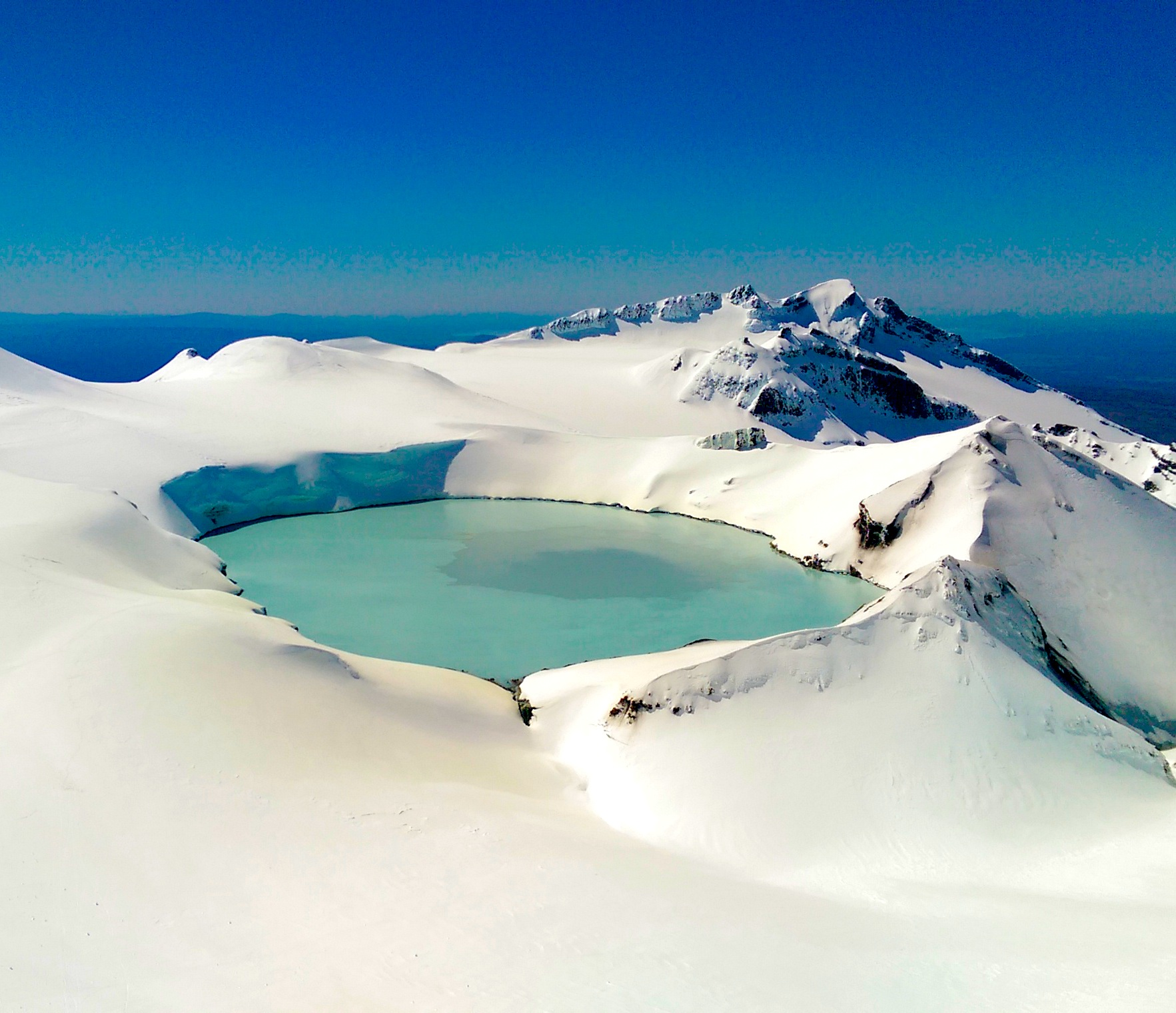The Stunning Crater Lake at the top of Mt. Ruapehu