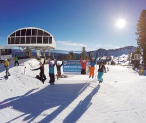 Squaw opening day. Today, November 26th, 2014.