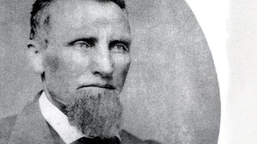 Snowshoe Thompson had a badass goatee