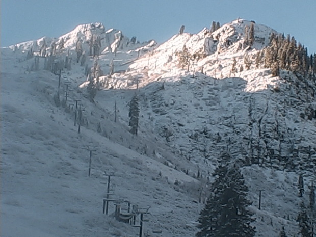 Squaw's KT-22 at 7:45am today, November 21st, 2014.